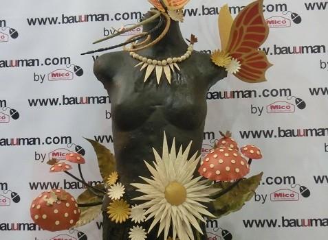 Escultura de otoño.