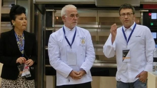 Pan y salud: Jorge Pastor y Concha Collar.