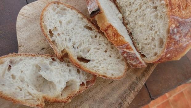 Miga del pan con Txakinarto escaldado