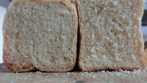 el pan debe ser de miga cerrada.