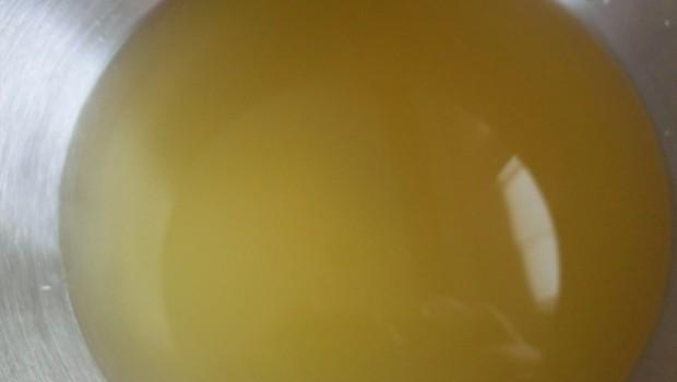 Mezcla de zumo de naranja y agua.