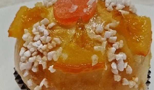 Mi favorita, con mucha naranja confitada.